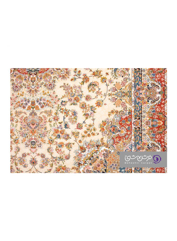 فرش طرح تبریز کد 1354